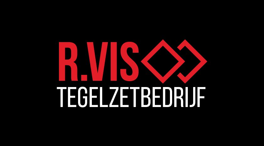 Logo R. Vis tegelzetbedrijf